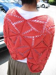 Pinwheel cape