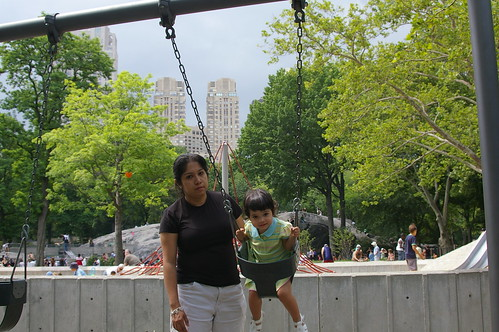 Swings in Central Park