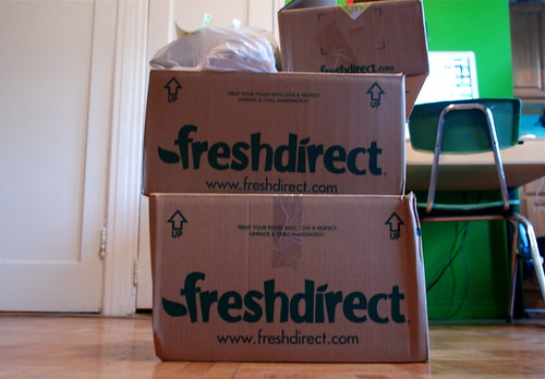Fresh Direct Arrives - by silencematters