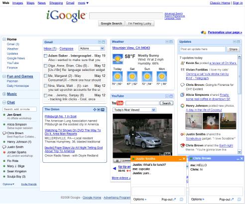 iGoogle New