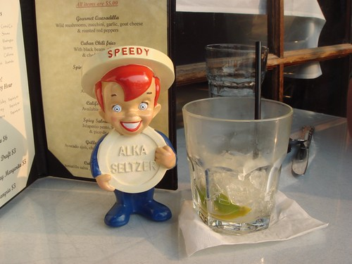 Alka Seltzer Speedy guy
