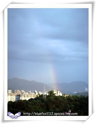 080629社區大學成  果展13_傍晚的彩虹