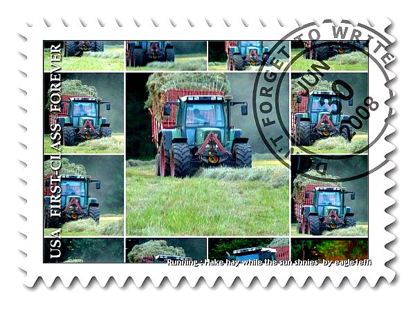 Fendt Favorit 4 matic - stamp