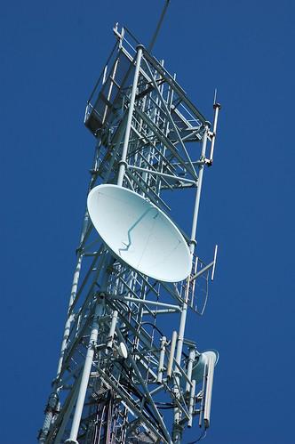 carteret's telecom signal dish by myyorgda.