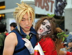 cloud and zombie aeris (Joits) Tags: cloud anime losangeles cosplay zombie cosplayer ax finalfantasy animeexpo cosplayers finalfantasyvii aeris laconventioncenter cloudstrife aerith losangelesconventioncenter finalfantasy7 aerisgainsborough japaneseanime aerithgainsborough ax2008 zombieaeris zombieaerith animeexpo2008