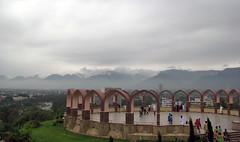 margalla hills (Wasim Ismail) Tags: pakistan stone cloudy alien overcast hills spaceship raining islamabad henge margalla shakarparian