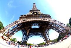 La Tour Eiffel - Fisheye