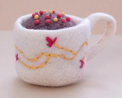 Hermione's Tea Cup Mini Pin Cushion