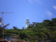View to the lighthouse (koichimura) Tags: brazil lighthouse seascape brasil landscape mar scenery view paisagem bahia vista ba farol  morrodesaopaulo morrodesopaulo     cairu tijuipe