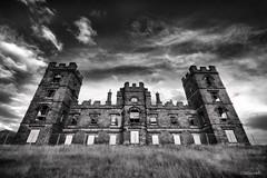 Riber Castle (Stevacek) Tags: blackandwhite bw d50 nikon ruins derbyshire ruin spooky hdr matlock riber 10mm artisticexpression de4 ribercastle sigma10200mm stevacek anawesomeshot johnsmedley