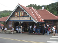 The Pikes Peak railway depot station. (07/06/2008)