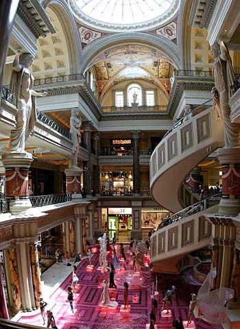 Galerias del Hotel Caesar\'s