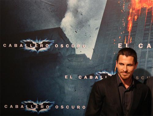 Christian Bale en Barcelona 1