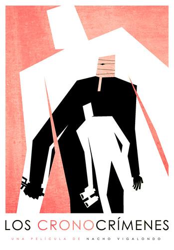 Los Cronocrímenes (cartel alternativo, Carles Vermut)