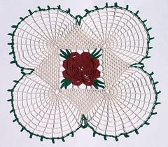 Rose Doily