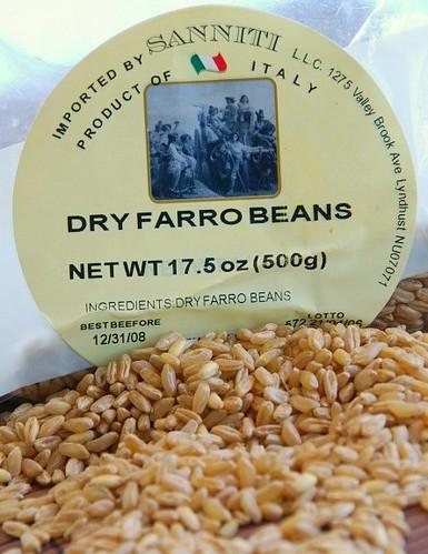 dry farro beans