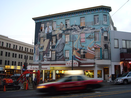mural in North Beach