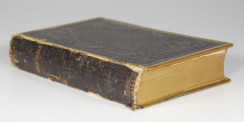 1870s Cambridge KJV - Spine