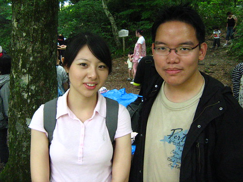 With Tina of Taiwan