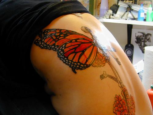 Tattoo. Tatuaje Calavera de Mariposa Tattoo. Tatuaje Calavera de Mariposa