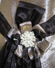 Bridesmaid dress - detail
