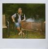 Stevo (sengsta) Tags: polaroid steve relaxing bbq stevo bridgetown polaroidspectraonyx instandfilm
