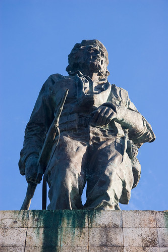 Che Guevara monument, statue, Santa Clara