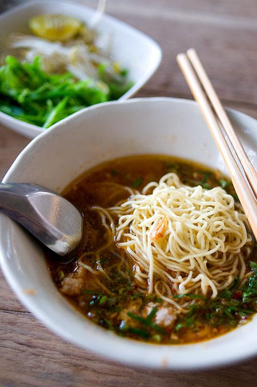 Kuaytiaw chakangrao, Kamphaeng Phet-style noodles