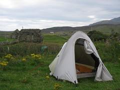 Camping at Howmore