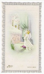 RELIGIOUS CARD, ano de 1982 (* angelandim *) Tags: cards prayer card sacred eighties 1980s sacraments baptized vintagecards hollyspirit oldcards religiouscards vintagereligiouscard commemorativereligiouscard vintageeightiescard
