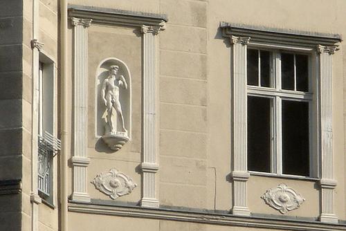 David allein in Berlin