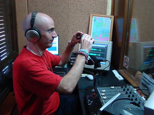 FreakMan en la radio