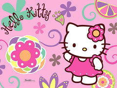 Hello Kitty Collection Tags Pink Wallpaper Hk Color Art Illustration Photoshop