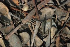 The Canada (Pawel Sawicki) Tags: canada holocaust rust fork spoon goods items auschwitz cutlery warehouses birkenau shoah kanada extermination rdza przedmioty holokaust mienie yka magazyny zagada sztuce widele pawesawicki