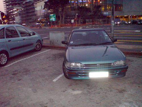 Nice Parking Fail