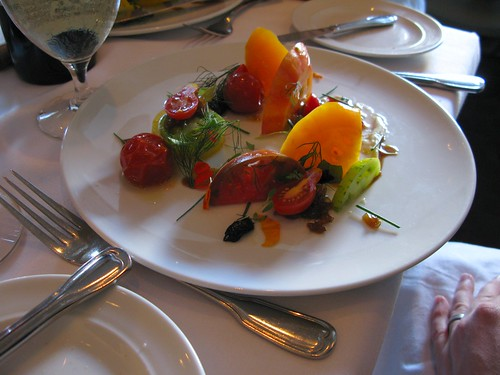 casey's heirloom tomato salad