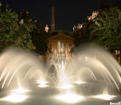 France Through the Fountain (Tom.Bricker) Tags: travel vacation france water fountain colors architecture night america photoshop landscape orlando epcot nikon colorful raw technology unitedstates florida tripod eiffeltower august disney mickey disneyworld fantasy mickeymouse learning knowledge imagination pavilion characters nikkor wdw dslr waltdisneyworld figment magical iconic epcotcenter themepark informative waltdisney worldshowcase futureworld wdi lakebuenavista imagineering colorsaturation geosphere theming disneyresort nikondslr 5photosaday nikkor18200mmvrlens yearofamilliondreams nikond40 photoshopcs3 81508 august2008 waltdisneyimagineering disneyphotos 8152008 disneyphotography wdwfigment tombricker 21stcenturybeganin1982 vacationkingdom vacationkingdomoftheworld