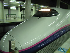 JR high speed train