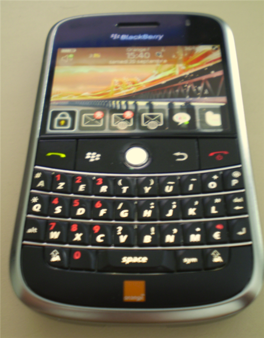 blackberry bold entier