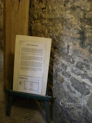 King John's Wall--John 即位前批准興建的牆壁,用以圍繞包括聖堂和高塔在內的建築。