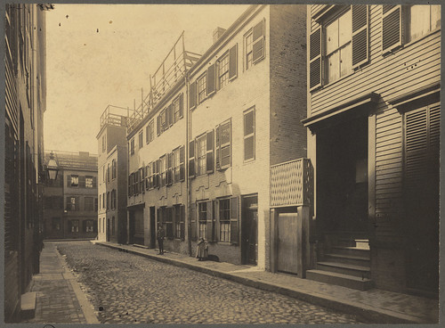 Unity Street in the North End of Boston, 1898