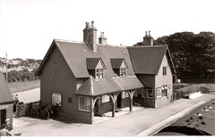 Helmsdale Station on 3/7/1957 (Helmsdale.org) Tags: scotland 1957 sutherland helmsdale helmsdaleorg helmsdalestation