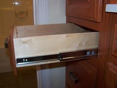 100_2606 (Hauser and Sons Woodworking) Tags: redoak cabinets raisedpaneldoors