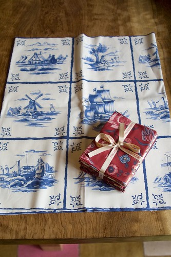 Dutch Tile Fabric