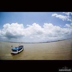 rumo a uma nova semana, (Luiz Marques) Tags: gua brasil do barco cu ilha par belm popopo comb