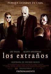 Los extraños poster película