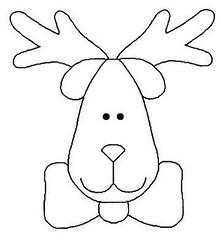 Molde (Kelly - Feltro Art) Tags: natal boneco neve rena molde