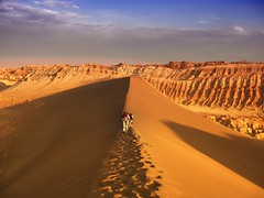 Valle de la luna (iko) Tags: sunset 15fav 1025fav 510fav sand chili dune sable valledelaluna coucherdesoleil dsert valleyofthemoon valledelalune inspiredbyhim