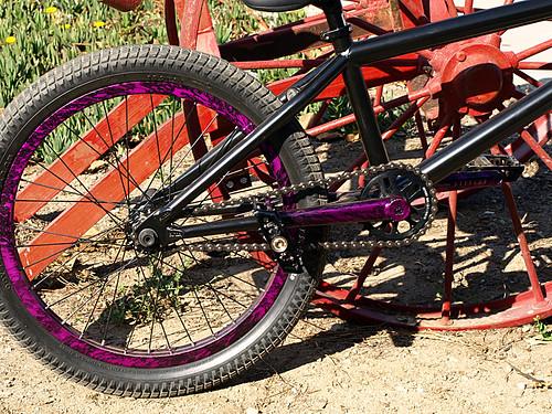Kurt\'s Purple Rain equipped bike