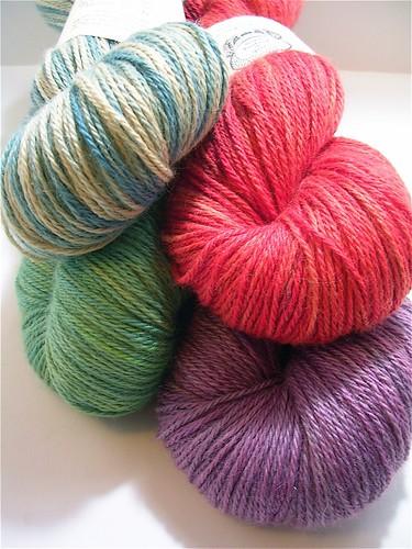 AVFKW alpaca/silk yarn